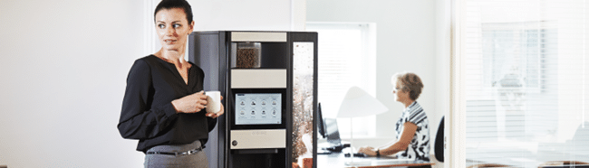 Necta Wittenborg 9100 Coffee Vending machine,