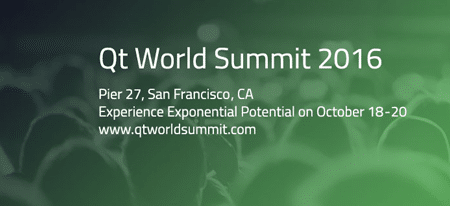 Qt World Summit 2016