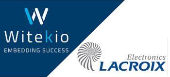 Witekio Lacroix partnership for IoT industry 450px
