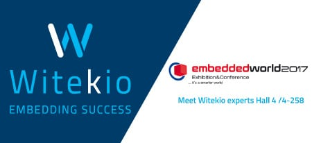 Witekio | Meet Witekio with Qt at Embedded World 2017
