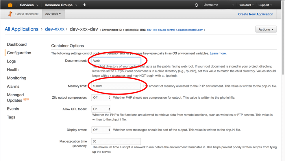 How to deploy Symfony application on Amazon Web Service