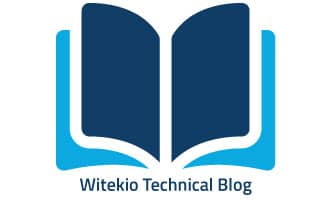 Witekio blog on witek.io