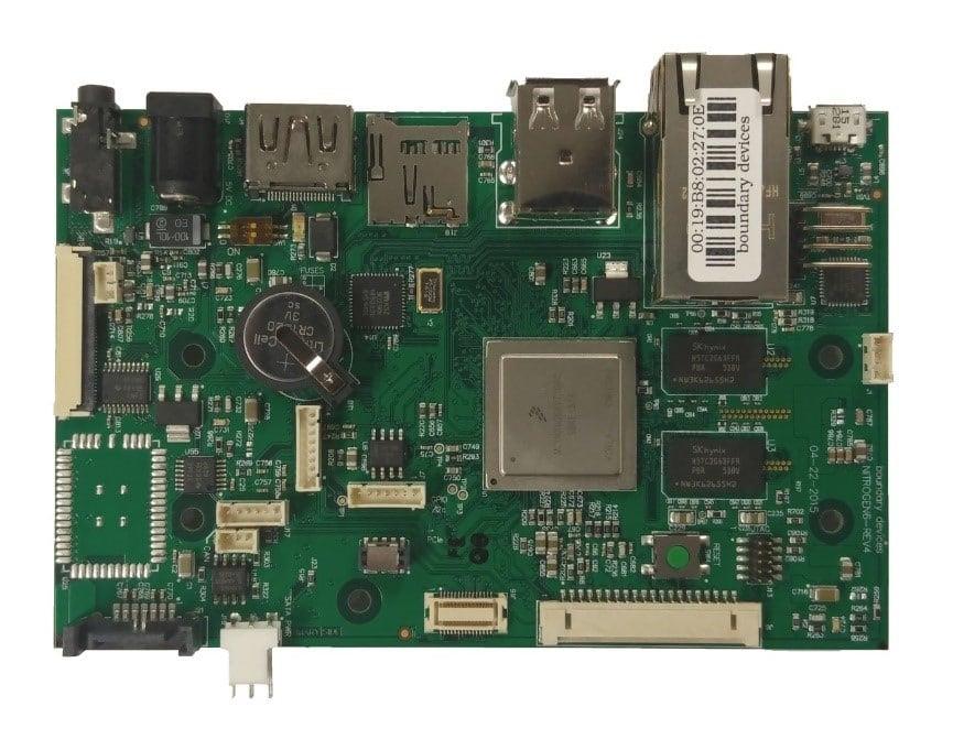 Witekio | Nitrogen6x hardware  - Embedded Linux demystified