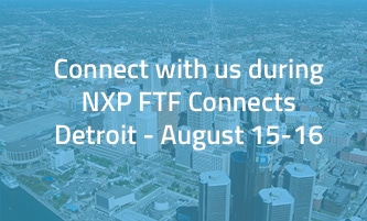 Meet Witekio during NXP FTF Connects Detroit- August 2017