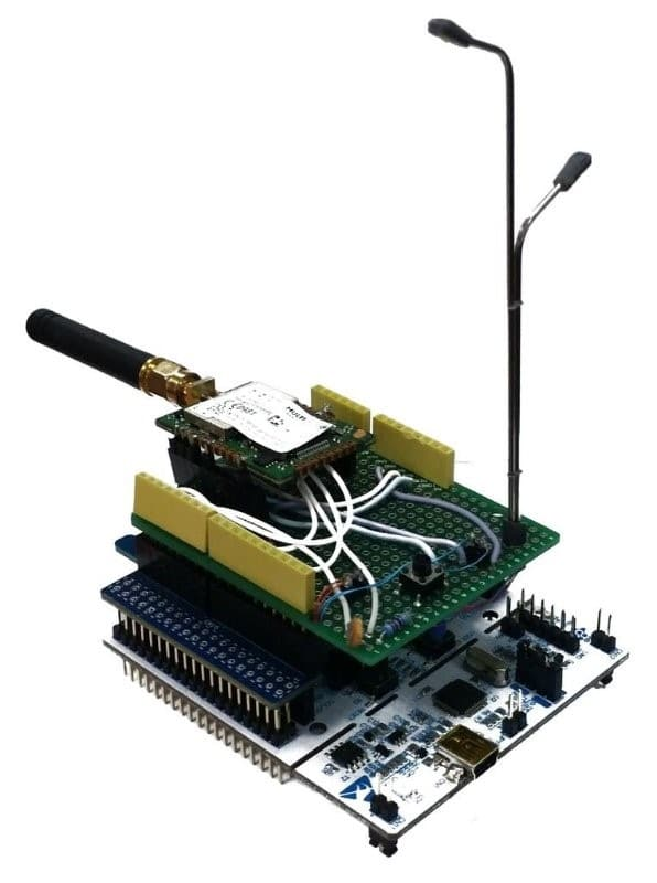 IoT Street Light prototype