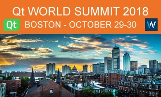 Qt World Summit 2018 Boston