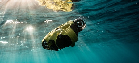 iBubble smart underwater drone