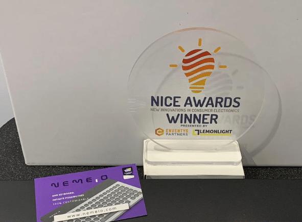 NICE award nemeio