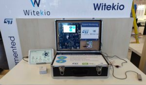 STMicroelectronics partner Witekio patient monitoring demo