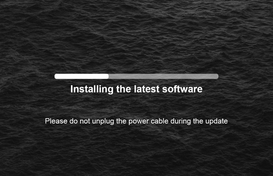OTA Update Benchmark_wait for the update