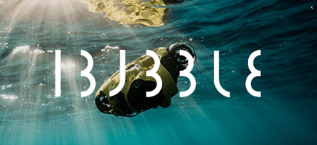 Underwater drone Ibubble-Key-Visual_with-logo