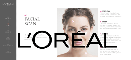 Personalized Make-Up Loreal-key-visual_with-logo