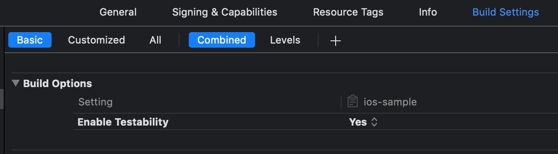Azure Devops build settings menu