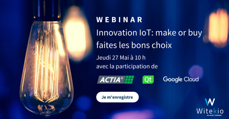 Webinar Innovation IoT Make or Buy